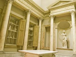 Oggetti dell'arte libraria antica eseguiti dal prof. Antonio Basile e collocati all'interno degli Armadia ad opera dell'arch. Gismondi